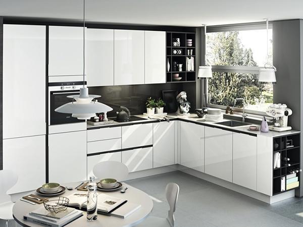 A fehér konyha előnye és hátránya - Lakáskultúra magazin