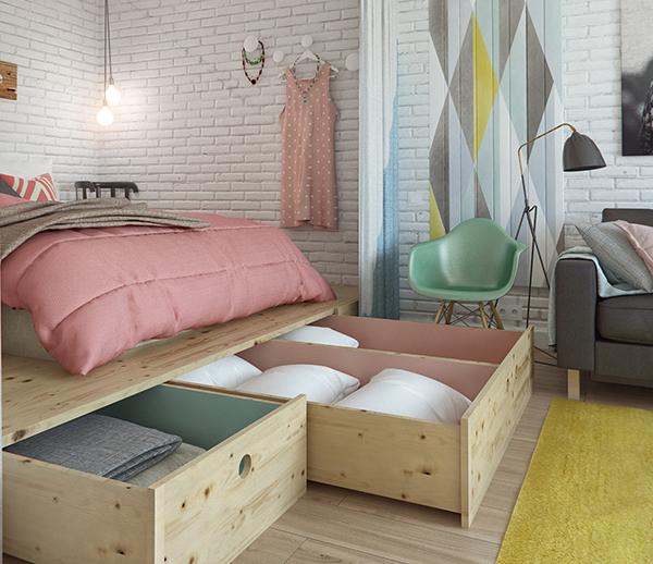 Hálószobai tárolás - Lakáskultúra magazin