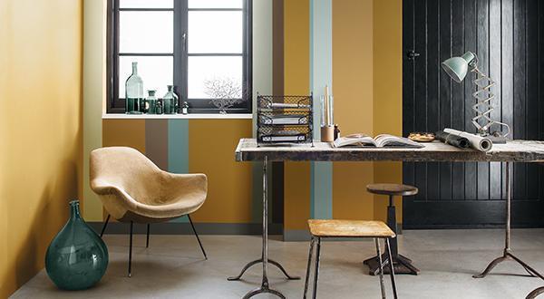 Nehéz elképzelni festés előtt az új színeket a falakon ...