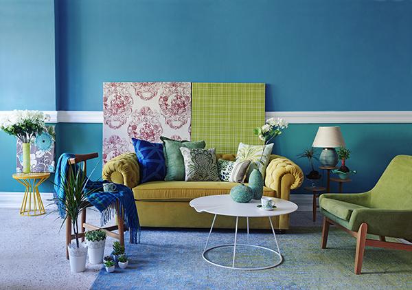 Színek a nappaliban - Lakáskultúra magazin