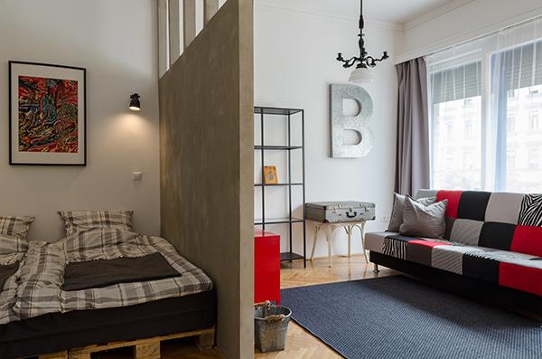 Otthonos garzon 40 négyzetméteren - Lakáskultúra magazin
