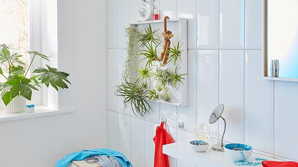Készítsünk egyszerű gyerekbarát dekorációt a fürdőszobába is ...