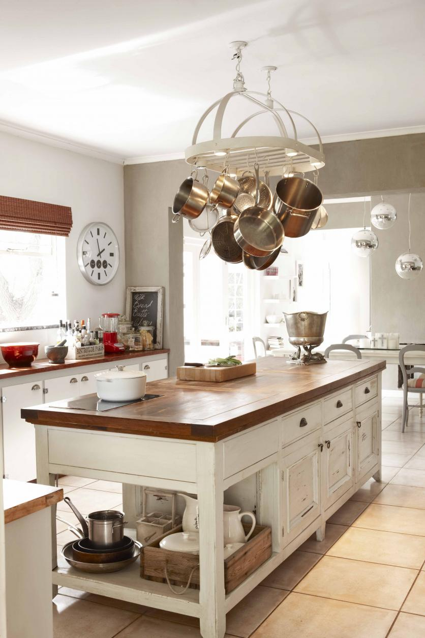 FOR EDITORIAL USE ONLY. REAL HOMES. French flair. Reuben Riffel and his wife Maryké completely transformed a Franschhoek home to create a French-inspired family space thats as distinctive yet unpretentious as the food that has made him a household name. TEXT AVAILABLE.