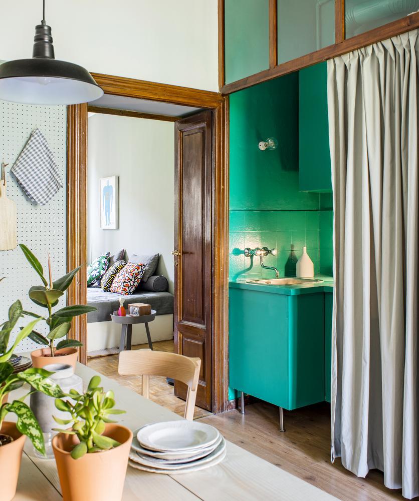 minigarzon, fiatalos, modern, olasz, zöld