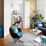lakásfelújítás, nagypolgári bérház, retró, indusztriális, felújítás, ráday utca