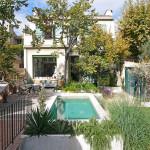kert, kertépítés, medence, mediterrán, rusztikus stílus, nyári kert, dél-franciás hangulat, Provence