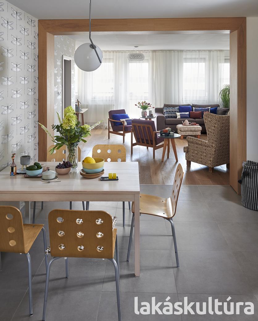 Lakásbemutatás, belsőépítész, modern, lakásátalakítás, családi otthon