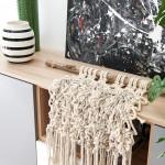 álomotthon, lakásbemutatás, otthon, dekoráció, makramé
