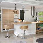 álomotthon, lakásbemutatás, otthon, konyha, natúr, fa