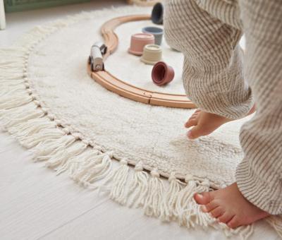 gyerekszoba, szőnyeg, bézs