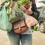 vásárlás, műanyag zacskó, vásárló